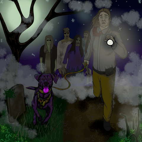 Maverick and the Malevolent - A Terrifying Night at Yup Cemetary