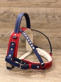 Leather Service Dog Harness Stars and Stripes Edition - yupcollars