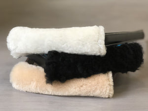 Slip On Detachable Fleece Handle Cover for Service Dog Handles