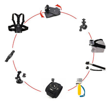 9 Piece Go Pro Hero Activity Mounts and Accessories Kit