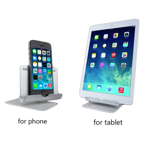 Premium Aluminum Tablet/Phone Desktop Stand with 360 Degree Rotation