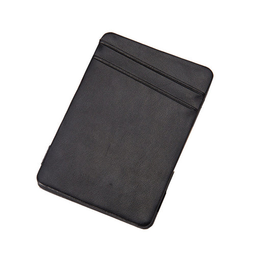 Minimalist Leather Credit Card Holder - with RFID Protection