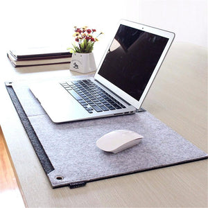Stylish and Comfortable Office Desk Mat / Large Felt Mousepad