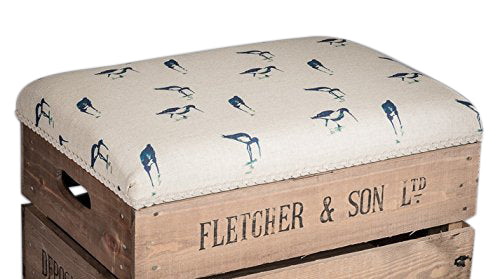 Wading birds storage stool