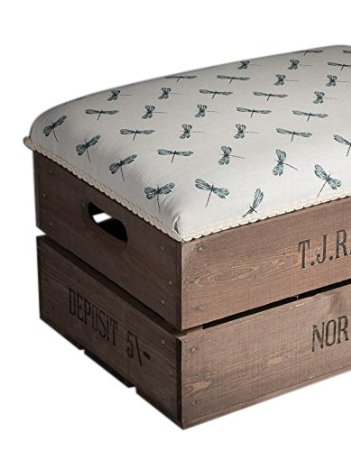 Dragonfly long footstool