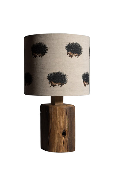 Hedgehogs table lamp
