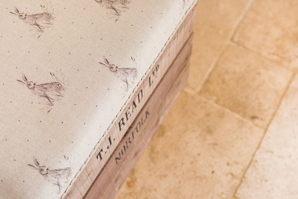 Personalised footstools and long footstools
