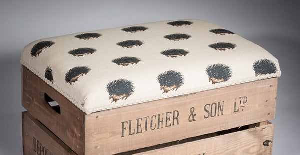 Hedgehogs storage stool