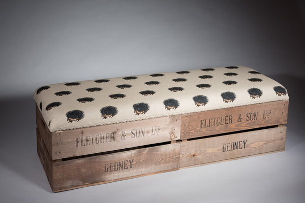 Hedgehog long footstool