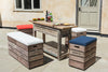 Outdoor Bar Bench