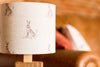 Natural hare table lamp