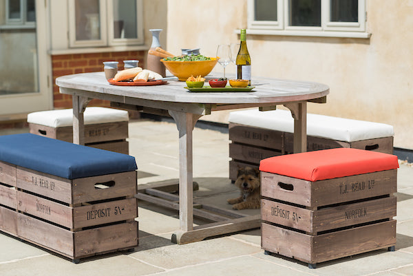 Outdoor Storage Stools