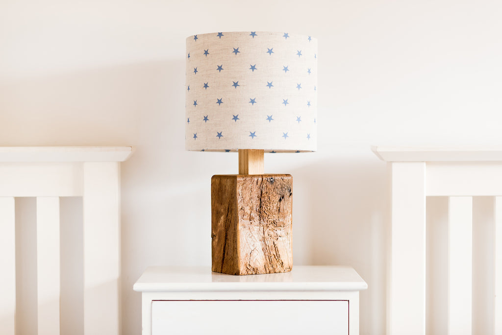 Provide your own fabric table lamp