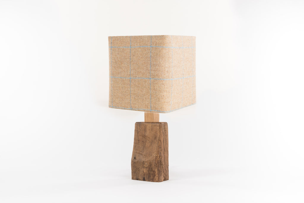 Wagtail tweed table lamp