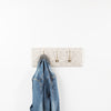 Grey star coat hooks