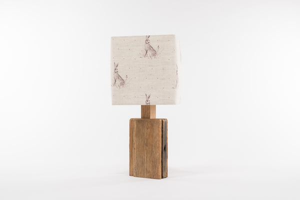 Red dot hare table lamp