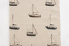 Sailing boats footstool