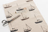 Sailing boats coat hooks