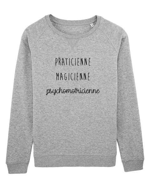Sweat Praticienne magicienne - Comptoir des Psychomot
