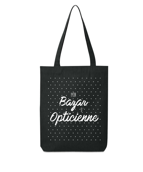 Tote bag Bazar d'Opticienne - Comptoir des Psychomot