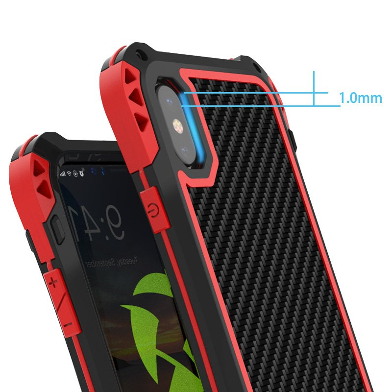 Outdoor Protective iPhone X Case Spocket App