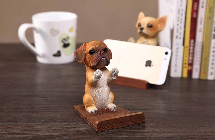 Cute Doggie Phone Stand Spocket App