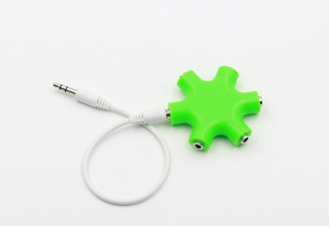 5-Way Headphone Splitter Spocket