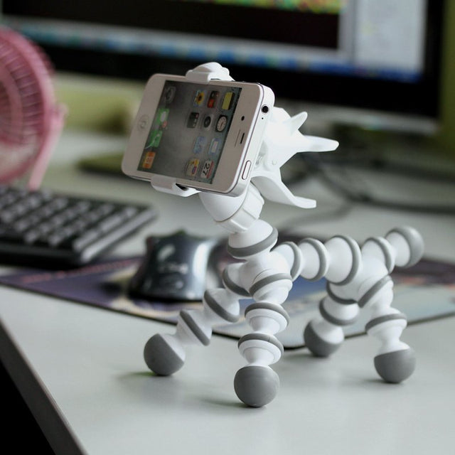 Flexible Cute Animal Phone Stand Spocket App