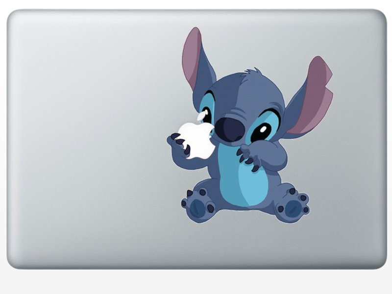 Stitch MacBook Decal Spocket