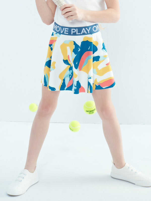 SET TO PLAY SKIRT - Moody Print