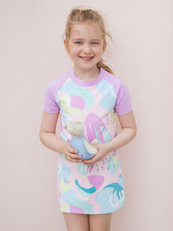 7 Wonders Short Sleeve Tunic - Fairyland