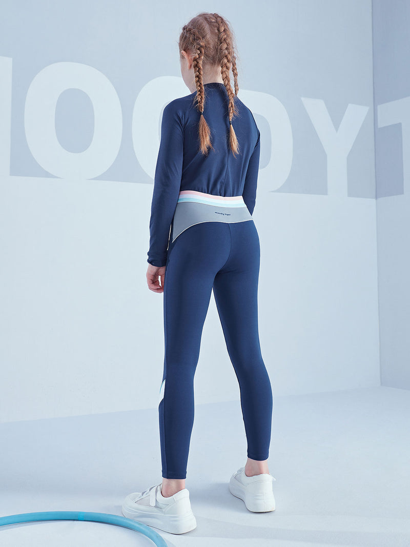Joyful Legging (Brushed) - Drees Blue