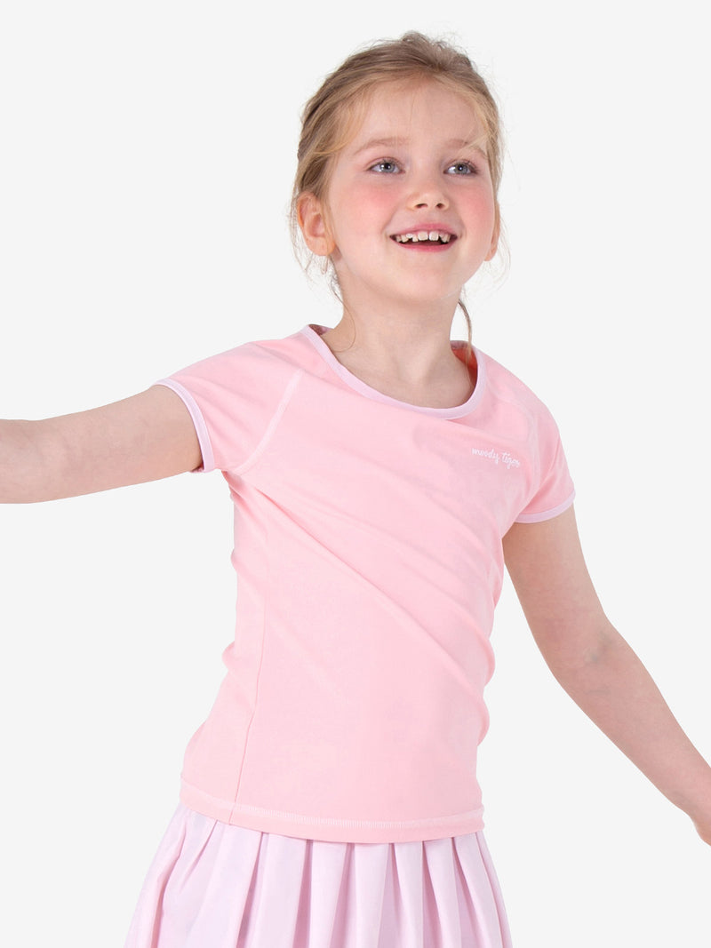 Here To Move Short Sleeve - Powder Pink