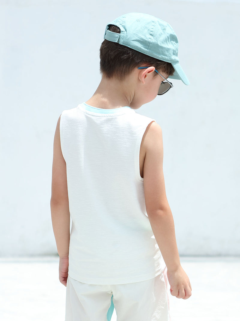 Here Come The Sun Sleeveless - Cashew