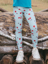 UPF50+ Breezy Legging - Sweet Cheeries Blue