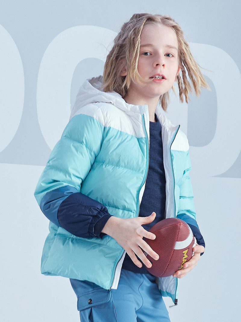 Bon Bon Down Puffer Jacket - Purist Blue