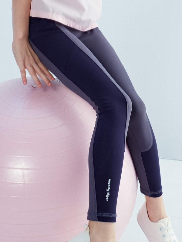 COLOUR BLOCKING LEGGINGS