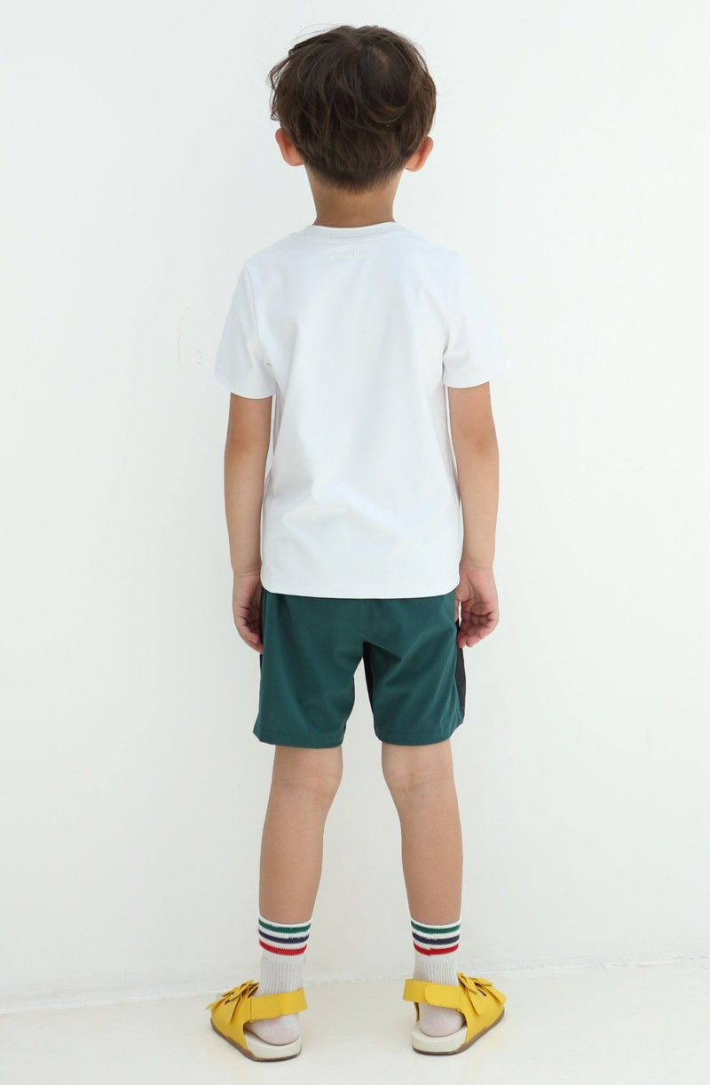 Energetic Day Short Sleeve - White