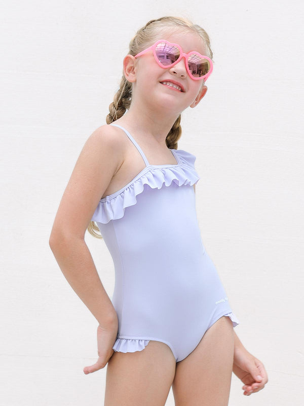 Little Talks Swimsuit - Purple Heather