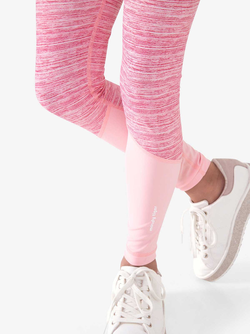 Musical Chairs Legging - Barbados Cherry