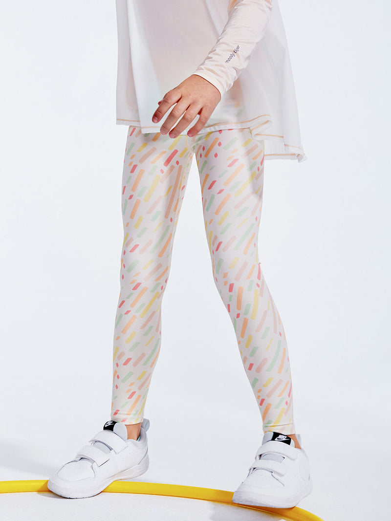 forest rainbow leggings