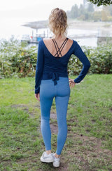 Dance Around Legging -Coronet Blue (Woman)
