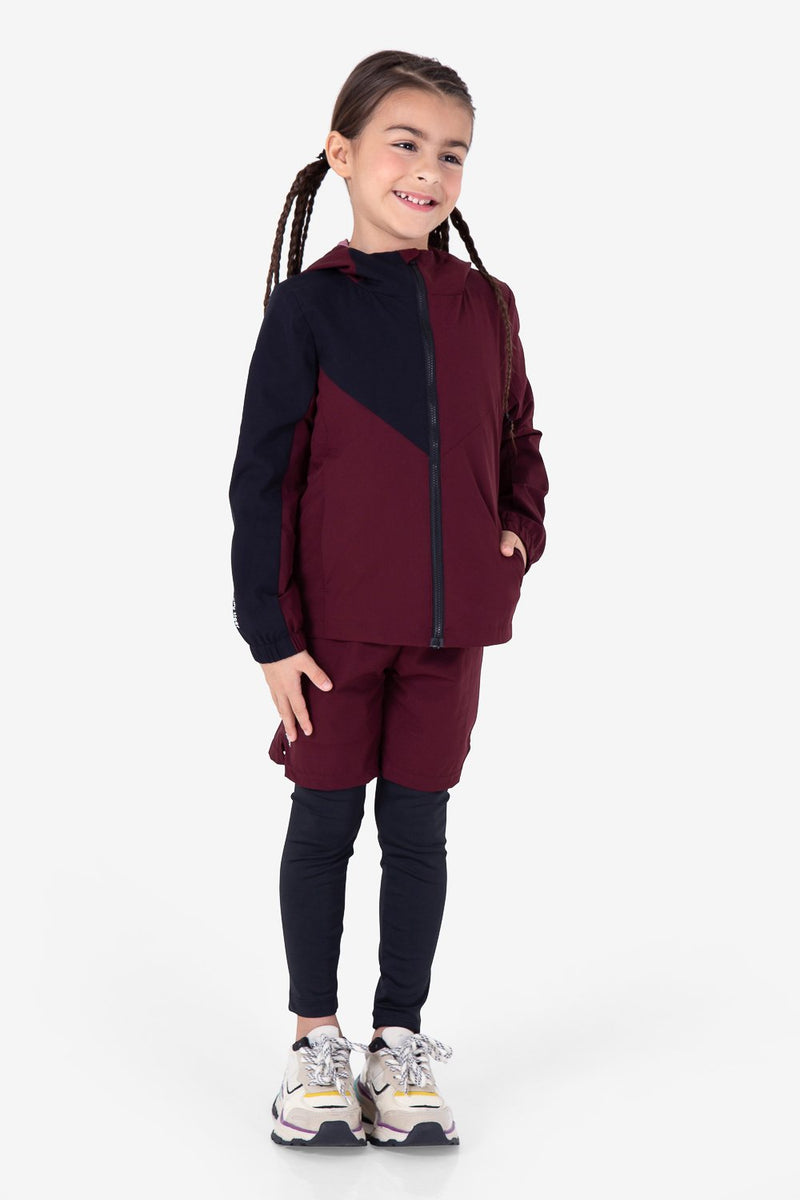 Urban Mountain Windbreaker - Burgundy