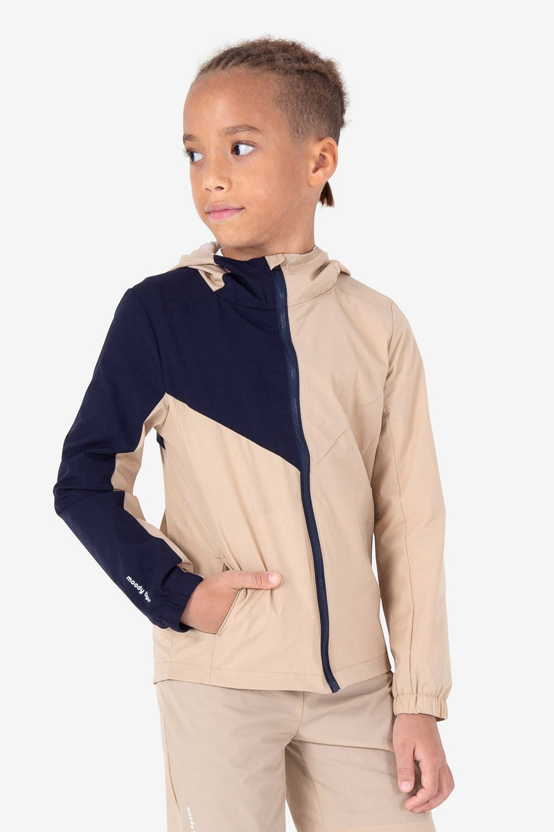 UPF50+ Urban Mountain Windbreaker - Neutrals Wood