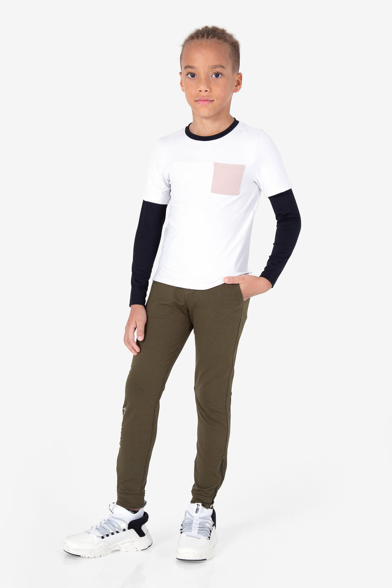Monkey Bar Long Sleeves - Nimbus Cloud