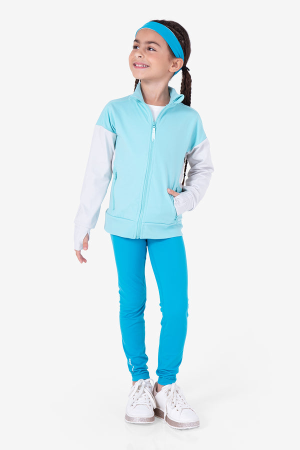 Balance Beam Jacket- Ocean Green