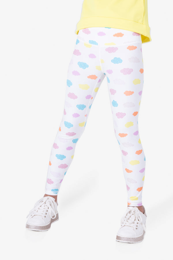 Rock, Paper, Scissors Leggings - Happy Cloud