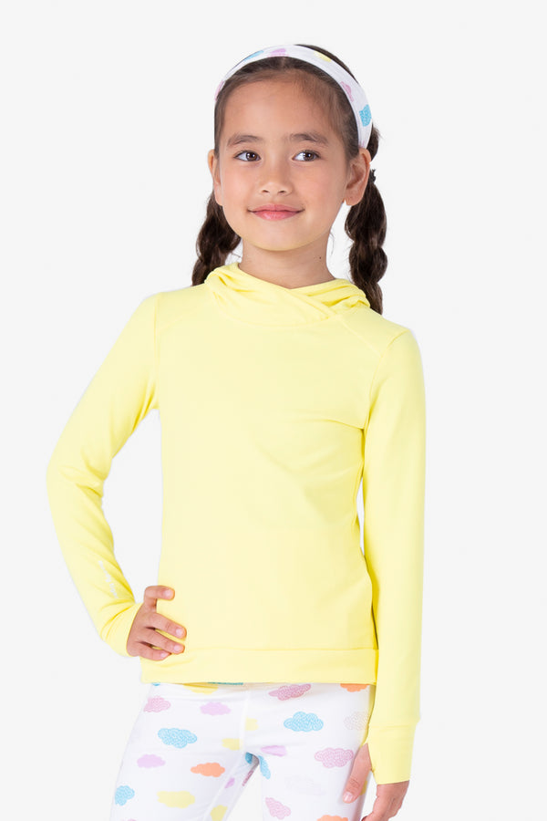 Trampoline Pullover - Lemon Drop