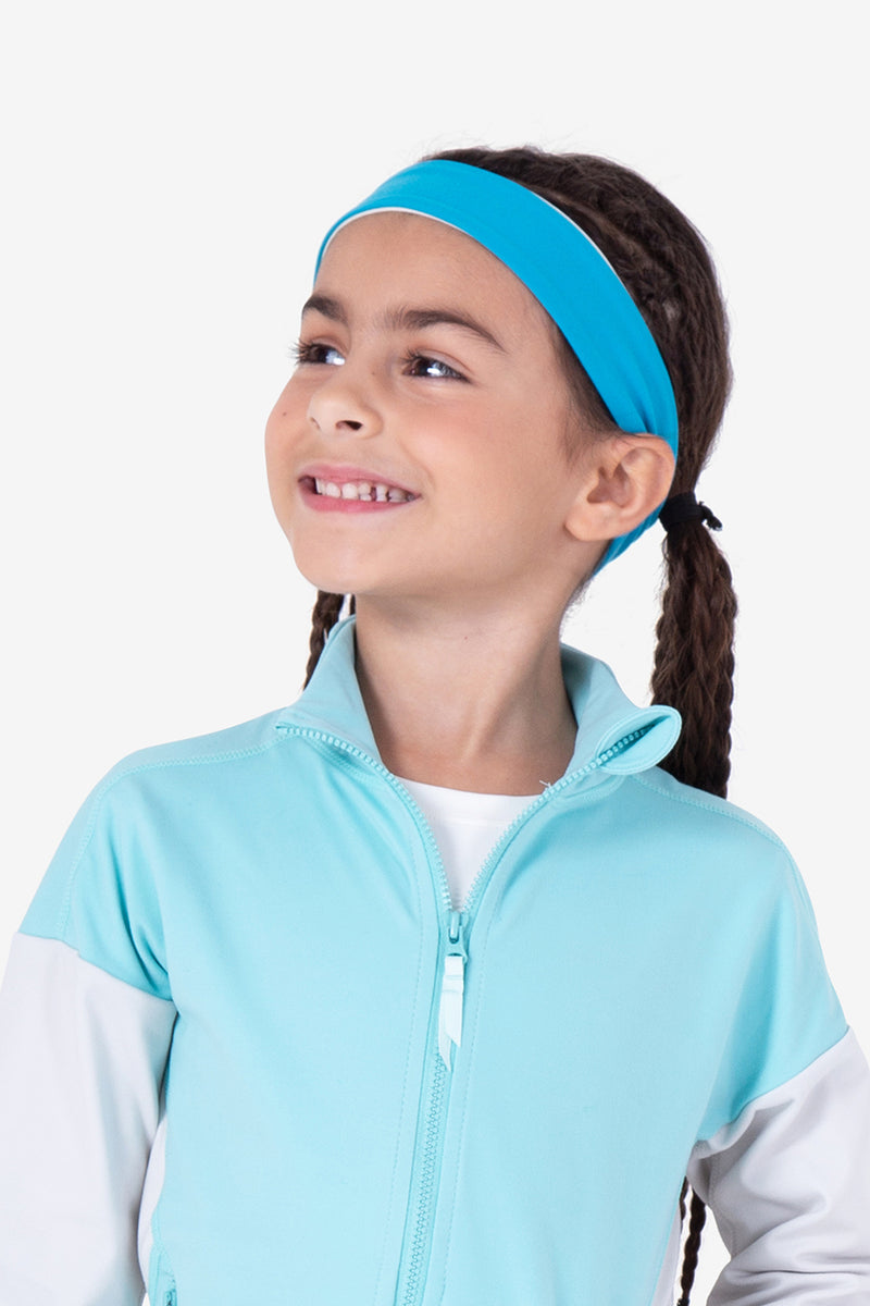 Cheerful Headband - Bondi Blue