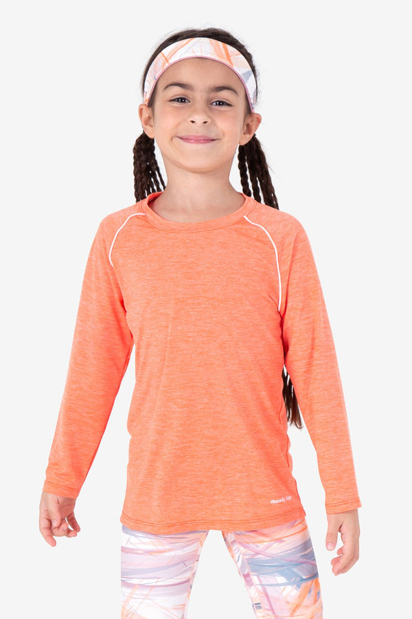 UPF50+ Perfect Day Long Sleeve - Nectarine